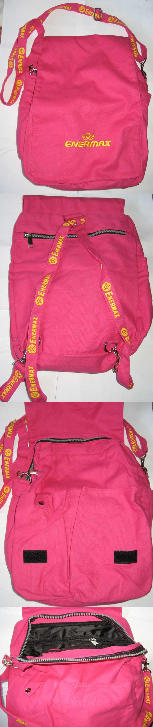 Enermax Pink Cross Body/Backpack (one left) <!--CL-->