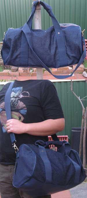Cotton On Jeans Blue Colour Duffel Bag (one left)
