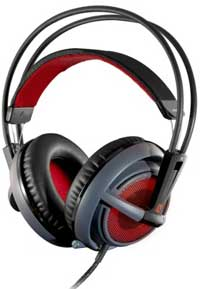 Steel Series Siberia v2 Black Gaming USB Headset with Microphone
