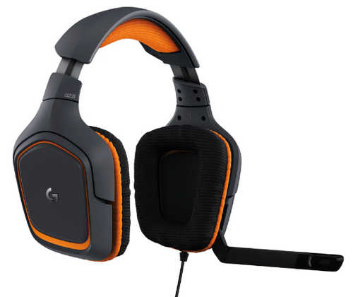 Logitech G231 PRODIGY Gaming Headset with Microphone