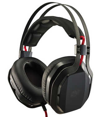Coolermaster CM MasterPulse Over-ear with Bass FX Gaming Headset with Microphone