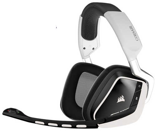 Corsair VOID Wireless Dolby 7.1 RGB White Gaming Headset with Microphone (AP)