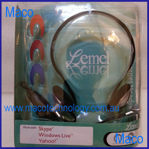 Internet PC Headset with Microphone<!--CL-->