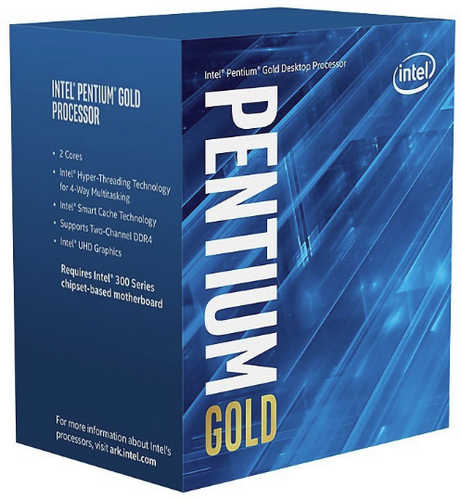 Intel Pentium Gold BX80684G5400 G5400 3.7GHz 4MB Cache LGA1151 CPU