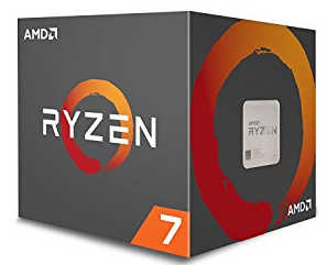 AMD Ryzen 7 1800X 8 cores 3.6GHz Max 4GHz 20MB Cache Socket AM4 CPU (no CPU Cooler)
