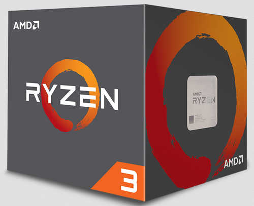 AMD Ryzen 3 2200 Quad cores 3.50GHz, Max 3.7GHz, 4MB Cache Socket AM4 CPU