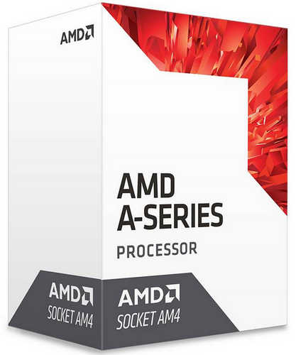 AMD 7th Gen A6-9600 APU Quad cores Max 3.4GHz, 2MB Cache Socket AM4 CPU