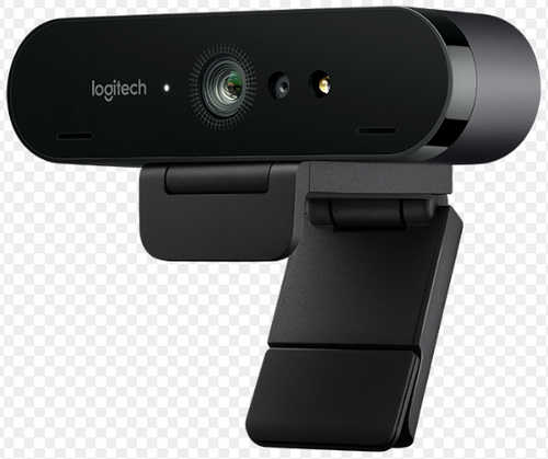 Logitech BRIO Ultra HD Webcam for Video Conferencing, Streaming, and Recording