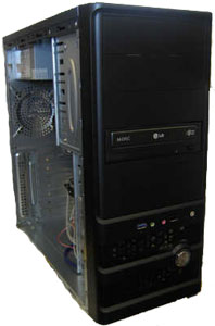 Aywun A1-977B USB3.0 Black Tower Case with 500W PSU
