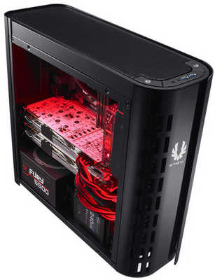 Bitfenix Aurora USB3.0 Black ATX Tower Case with Side Window Panel