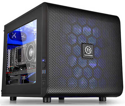 Thermaltake Core V21 USB 3.0 Micro ATX mATX Case with Side Window Panel