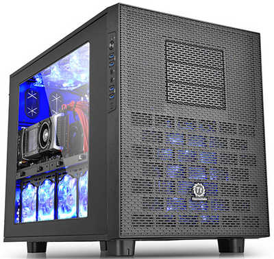 Thermaltake Core X9 USB3.0 Cube Case with Side Window Panel