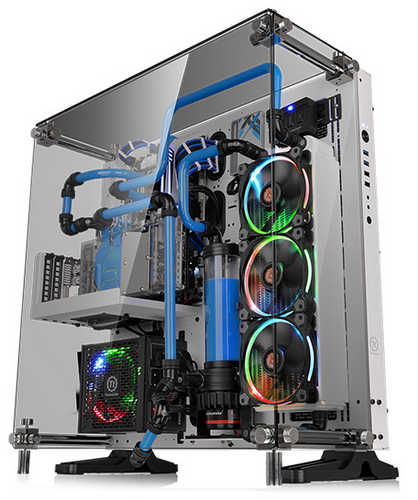 Thermaltake Tempered Glass Snow Edition ATX Wall-Mount Chassis