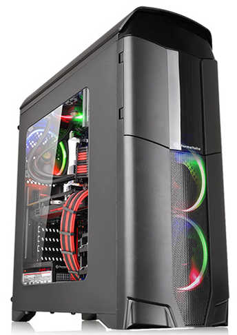 Thermaltake Versa N26 USB3.0 Tower Case with Side Window Panel 600W PSU