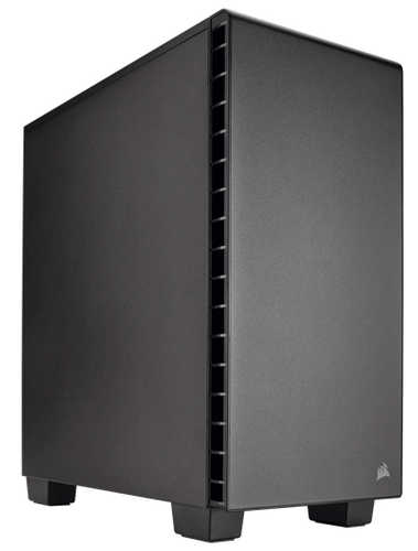 Corsair Carbide Series Quiet 400Q v2 Compact Mid-Tower Case with Fan Controller for RGB series fan