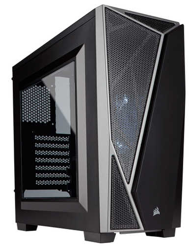 Corsair Carbide Series SPEC-04 Black/Grey Mid-Tower Gaming Case with Side Window Panel