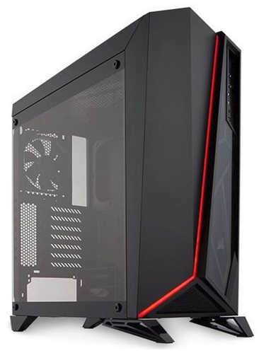 Corsair Carbide Series Spec-Omega Black Tower Tempered Glass Gaming Case