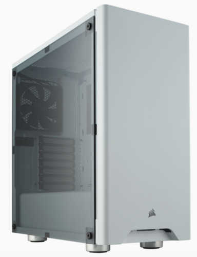 Corsair Carbide Series 275R Mid-Tower Gaming Case White with Side Window Panel