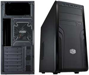 Coolermaster Force 500 USB3.0 Black Tower Case with 420W PSU