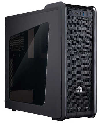 Coolermaster CM590 III/CM593 Tower Case with Side Window Panel