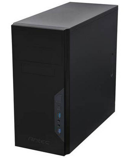 Antec VSK3-500 Black Micro/Mini-ITX Tower Case with 500W PSU