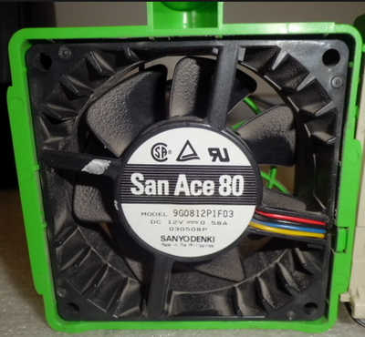 80mm 8cm Sanyo Denki San Ace 80 Case Fan Model 9G0812P1F03<!--CL-->