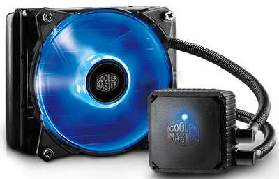 Coolermaster Seidon 120V Plus Liquid Cooler Universal Socket CPU Cooler