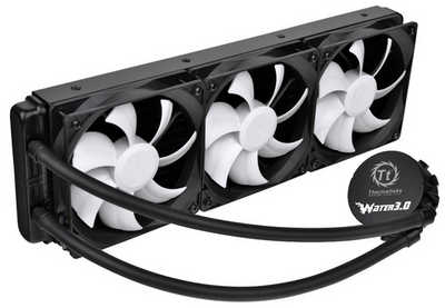 Thermaltake Water 3.0 Ultimate Enclosed Liquid Cooling System Universal Socket CPU Cooler