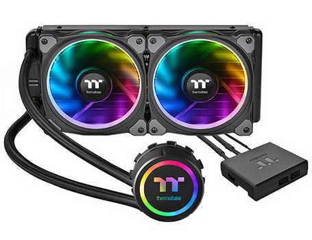 Thermaltake Floe Riing RGB 240 TT Premium Edition Liquid Cooling System Universal Socket CPU Cooler