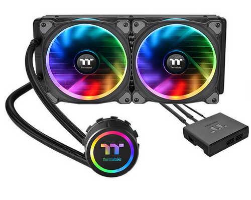 Thermaltake Floe Riing RGB 280 TT Premium Edition Liquid Cooling System Universal Socket CPU Cooler