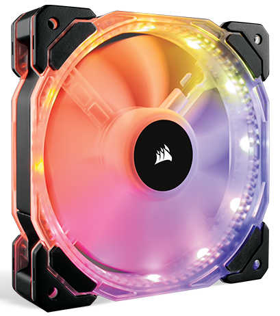 120mm 12cm Corsair HD120 RGB LED High Performance PWM Fan
