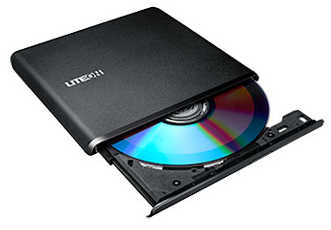Liteon ES1 External Portable Ultra Slim USB DVD-RW