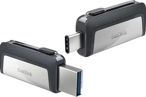 128GB SanDisk Ultra Dual Drive USB 3.1 TYPE-C Flash Drive