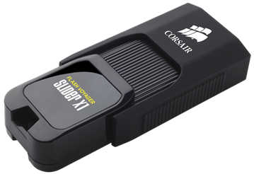 256GB Corsair CMFSL3X1-256GB Voyager Slider X1 USB 3.0 Flash Drive