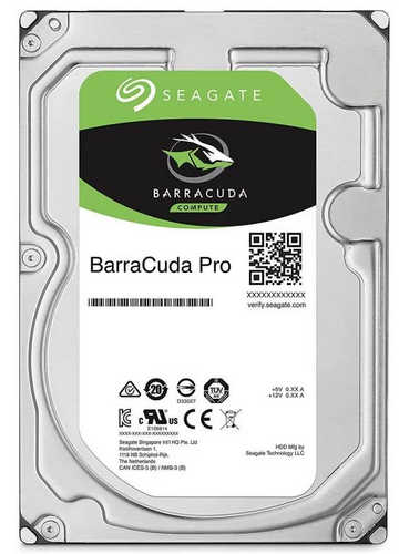 8TB 8000GB Seagate ST8000DM0004 BarraCuda Pro HDD SATA III 7200RPM 128MB Cache