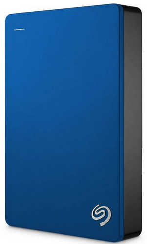 "External 2.5"" 5TB 5000GB Seagate STDR5000302 Backup Plus USB3.0, Blue Portable Drive"