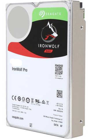 10TB 10000GB Seagate ST10000NE0004 IronWolf Pro NAS HDD SATA III 6.0Gb/s 7200RPM 256MB Cache for NAS Systems