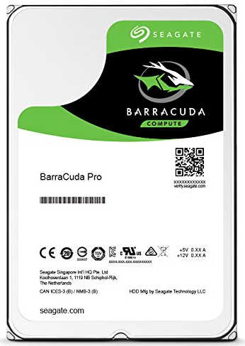 6TB 6000GB Seagate ST6000DM004 BarraCuda Pro HDD SATA III 6.0Gb/s 7200RPM 256MB Cache