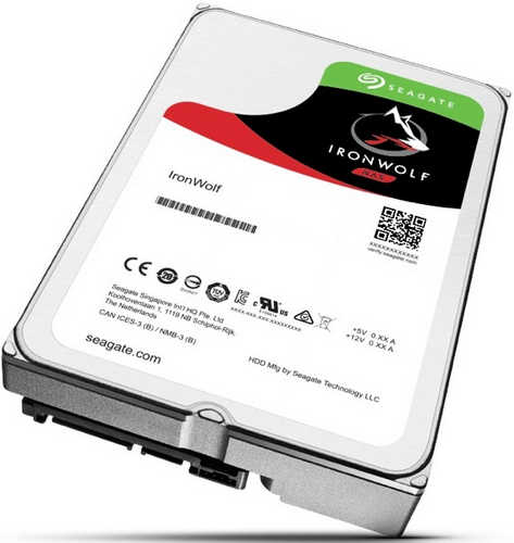 12TB 12000GB Seagate ST12000VN0007 IronWolf NAS HDD SATA III 6.0Gb/s 7200RPM 256MB Cache for NAS Systems