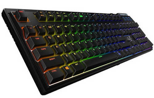 ASUS Cerberus Mech RGB Mechanical Blue Gaming Keyboard