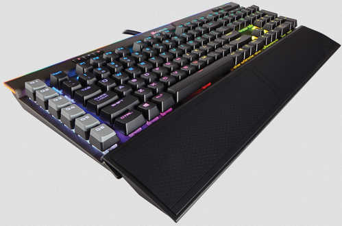 Corsair K95 RGB PLATINUM Mechanical Gaming Keyboard Cherry MX Speed Black
