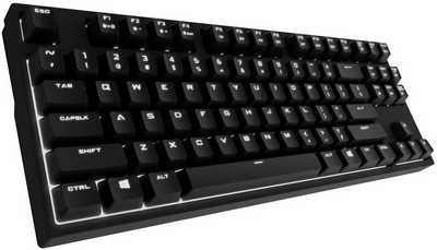 Coolermaster Storm Quickfire Rapid-i Brown Cherry MX Mechanical Switch Gaming Keyboard