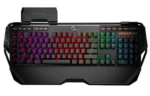 G.Skill RIPJAWS KM780 RGB Illuminated Cherry MX Red Mechanical Keyboard