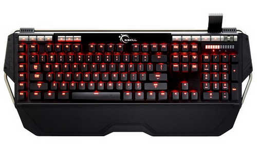 G.Skill RIPJAWS KM780 Crimson Illuminated Cherry MX Brown Mechanical Keyboard