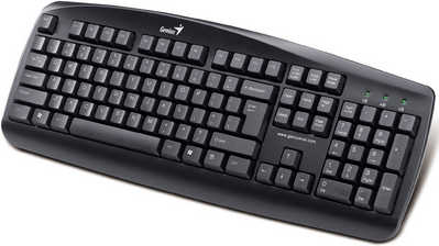 Genius KB-110 USB Black Keyboard