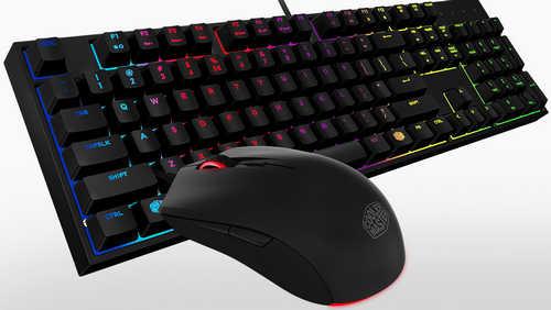 Coolermaster Desktop Set Masterkeys Lite L RGB Keyboard and Mouse