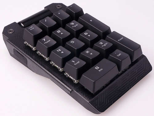 Asus ROG Claymore Bond Blue Cherry MX RGB, Mechanical Key, Aura Sync Numpad/Keypad