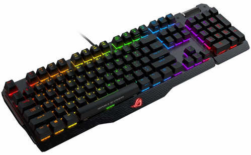 Asus ROG Claymore RGB Mechanical Gaming Keyboard Blue Cherry MX with Detachable Numpad