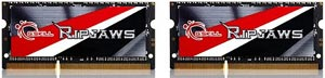 16GB DDR3 G.Skill Ripjaws F3-2133C11D-16GRSL 2133MHz CL11-11-11-31 SO-DIMM 204-pin Notebook RAM (2x8GB)