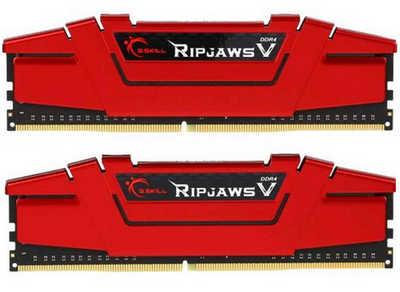 16GB DDR4 G.Skill Ripjaws V F4-2400C15D-16GVR 2400MHz CL15-15-15-35-2N (2x8GB)